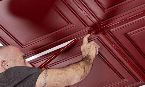 stratford vinyl drop ceiling tiles merlot pvc tiles
