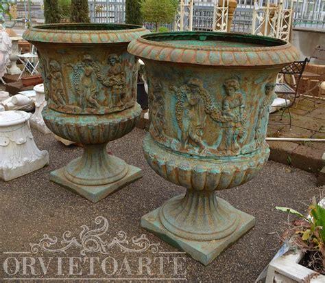 vasi in ghisa orvieto arte vaso in ghisa monumentale