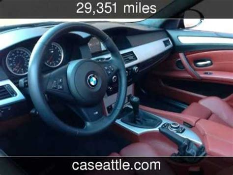 used cars for sale and online car manuals 2005 saab 42072 instrument cluster 2010 bmw m5 sport sedan 500hp 6 speed manual transmission used cars seattle washington youtube