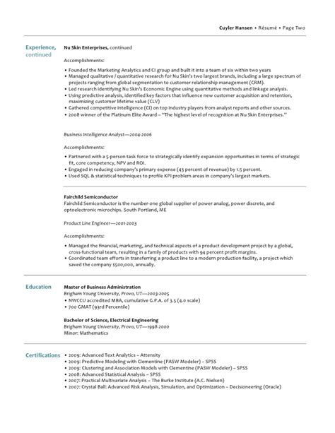 resume exle how many pages should a resume be 2016 how
