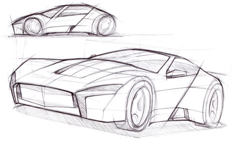 A Few Of Sol's Recent Car Drawings
