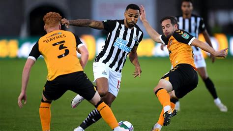Newcastle United - Newport County 1 Newcastle United 1 (4 ...