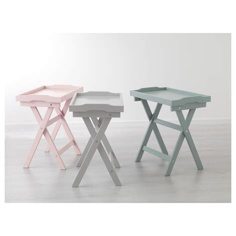 gray coffee table tray maryd tray table grey 58x38x58 cm ikea