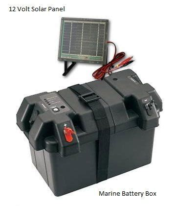 Boat Battery Box With Charger by 17 Best Images About Kayak Electrical On