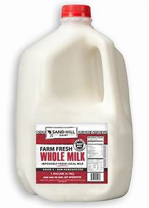 Sand Hill Dairy Whole Milk 1 Gallon - Our Local Basket