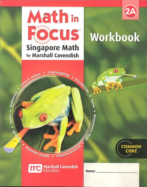 Math In Focus Grade 2 Workbook A (047462) Details  Rainbow Resource Center, Inc
