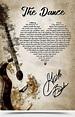 Garth Brooks The Dance Song Lyrics Poster Gloss Poster ...