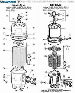 Hayward Pool Filter Parts Diagram