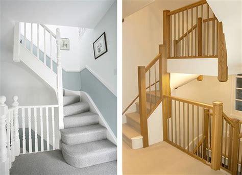 Left Econoloft Staircase, Right Tony Pestana Builders