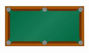 Pool Table Diagram Template