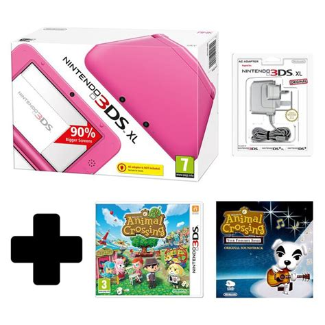 Animal Crossing New Leaf 3ds Console by Nintendo 3ds Xl Pink Console With Animal Crossing New