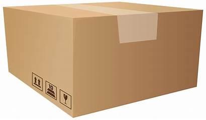 Box Clip Clipart Packaging Transparent Cardboard 1275