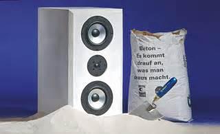 hifi boxen aus beton selbstde