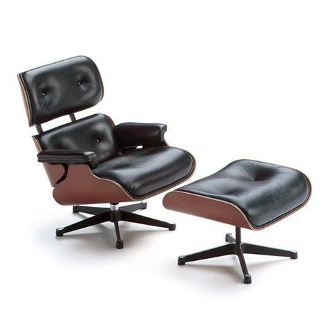 miniatur lounge chair ottoman vitra