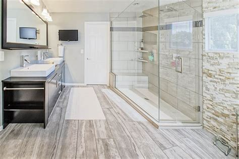 bathroom hardwood flooring ideas 58 luxury walk in showers design ideas designing idea