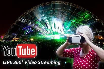 360 Virtual Reality Streaming Festival Coachella