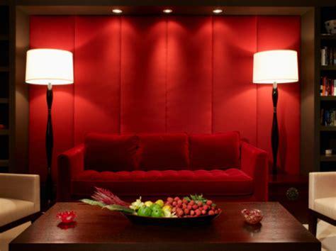 sofa vermelho parede verde decora 199 195 o de sala sof 193 vermelho fotos