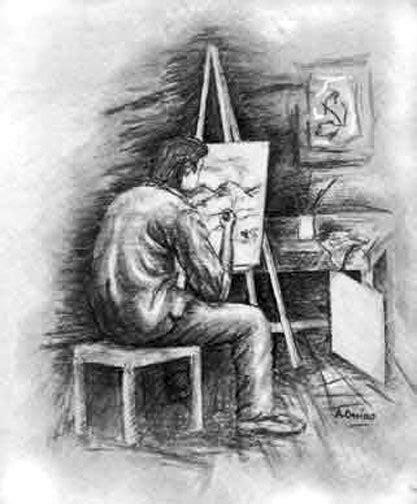 disegni per dipingere ad acquerello disegni corpo maschile