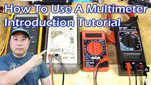 How To Use A Multimeter - Tutorial Guide - Video 1