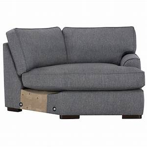 City furniture austin blue fabric small right cuddler for Small sectional sofa with cuddler