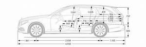 Mercedes-Benz E-Klasse T-Modell Abmessungen