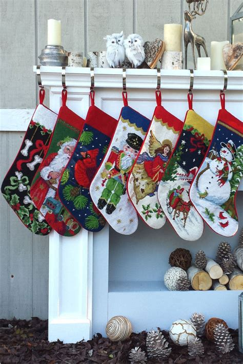 adorable christmas stockings decoration ideas festival