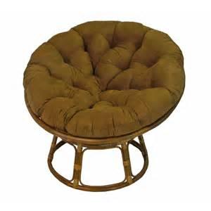 blazing needles papasan lounge chair cushion reviews wayfair
