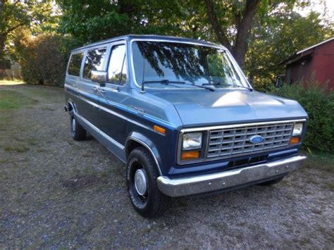 transmission control 1986 ford e series on board diagnostic system classic 1986 ford e series van e150 club wagon xlt excellent shape for sale detailed