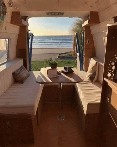 Van Conversion Campervan Interior Bed Diy Camper
