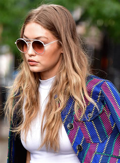 Gigi Hadid's New Hygge Hair Color Is The Definition of Low ...