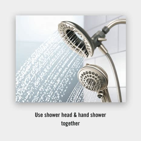 combination shower head  hand shower inition