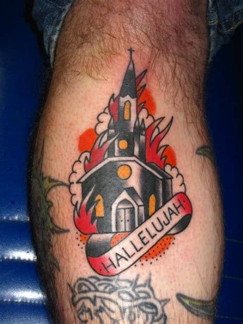 controversial burning church tattoos tattoodo