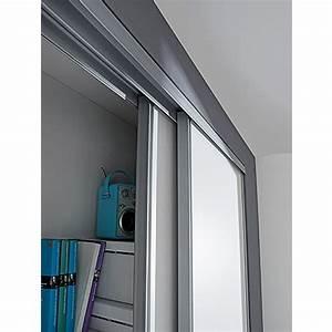 Schiebetür Glas Bauhaus : optimum schiebet r set wei grau 120 x 250 cm bauhaus ~ Watch28wear.com Haus und Dekorationen