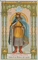 Louis II (846-879) Son of Charles the Bald and Ermentrude ...