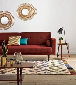 14 idees deco de tapis berbere With tapis berbere avec bout de canapé transparent