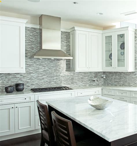 Glass Mosaic Tile Kitchen Backsplash by Gray Glass Kitchen Tiles Brown Gray Glass Mosaic