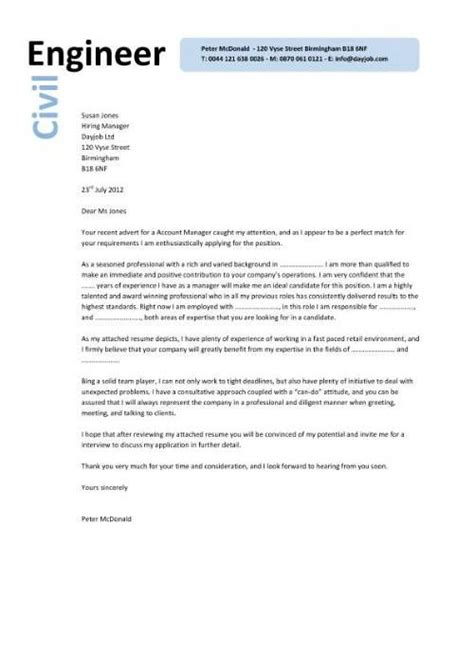 civil engineer  cover letter   left  based  engineering  cv cover