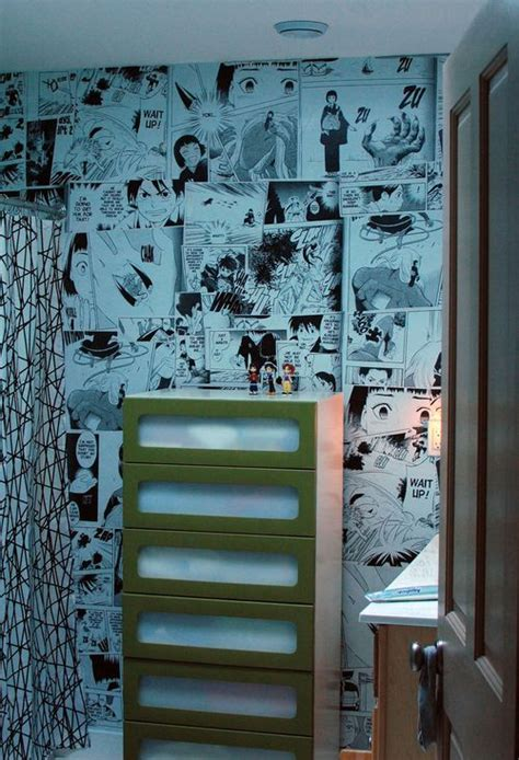 anime mural wall otaku room wall