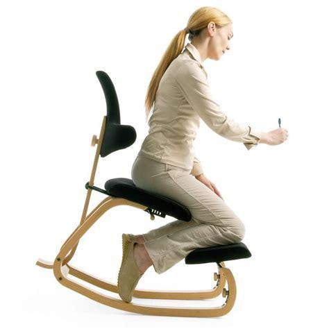 chaise de bureau ergonomique dos chaise de bureau ergonomique à bascule en tissu et bois