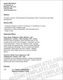 sle resume objectives for nursing assistant clerical career objective exles