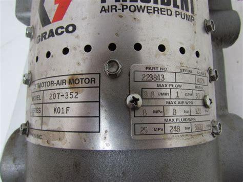 graco   president air pneumatic transfer pump