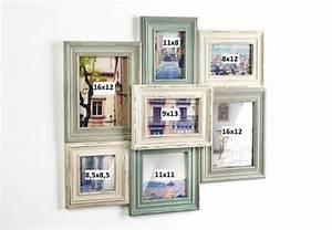 Bilder Für Bilderrahmen : vintage collage holz bilderrahmen f r 7 bilder terrapalme heim und gartenshop ~ Orissabook.com Haus und Dekorationen