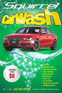 carwash flyer template postermywall With car wash poster template free