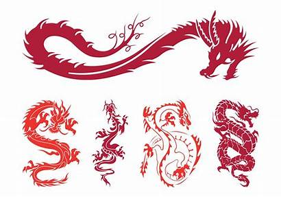 Dragons Graphics Vector Fantasy Freevector Swirling