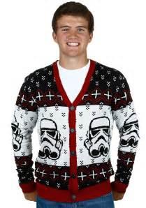 Star Wars Stormtrooper Men's Ugly Sweater Cardigan