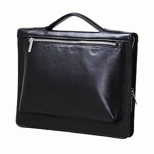 leather organizer padfolio with handle and pouch for ipad With leather letter pouch
