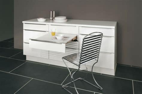table coulissante cuisine meuble de cuisine 20 exemples de mobiliers utiles