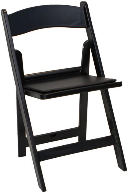 wholesale resin folding chairs padded folding black resin