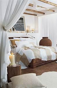 deco chambre blanche en 50 belles suggestions With chambre blanche et bois