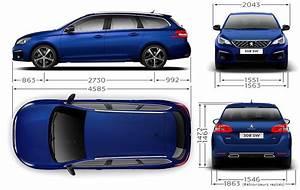Dimensions 308 Peugeot : peugeot 308 308 sw gt dimensions ext rieures et int rieures forum ~ Medecine-chirurgie-esthetiques.com Avis de Voitures